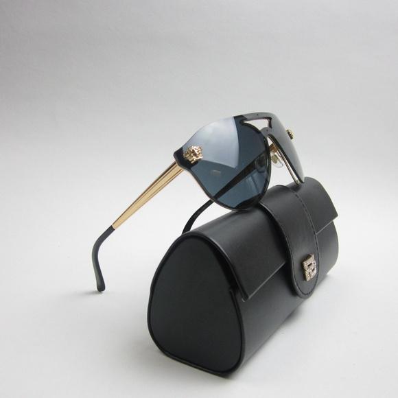 4ba3698e6bf Versace 2161 1002 Medusa Women s Sunglasses w case.  M 5aba92733b1608182cb7e98f